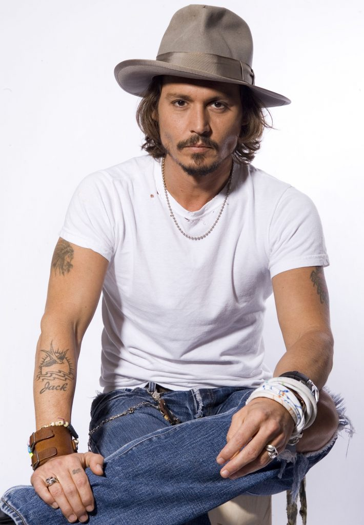 Actor Johnny Depp poses in Beverly Hills, Calif., on Thursday, June 22, 2006. With the second