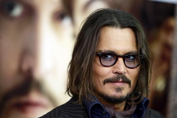Cast member Johnny Depp arrives for the premiere of