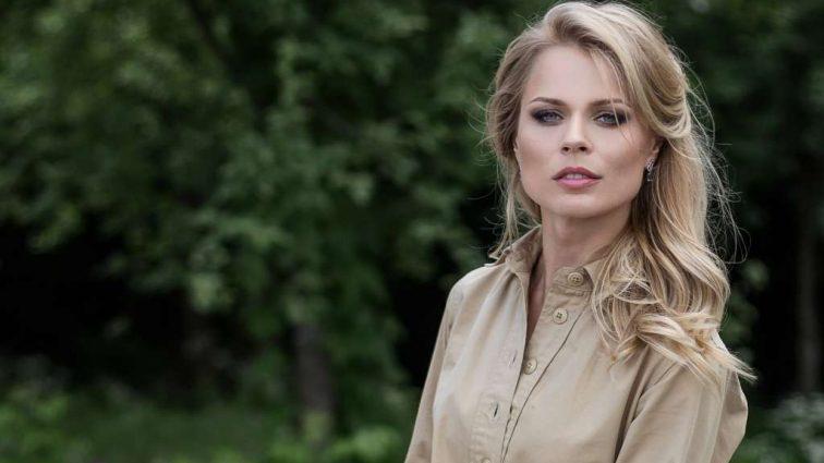 Фанати зачаровані: Вагітна Ольга Фреймут приголомшила своєю сукнею (ФОТО)