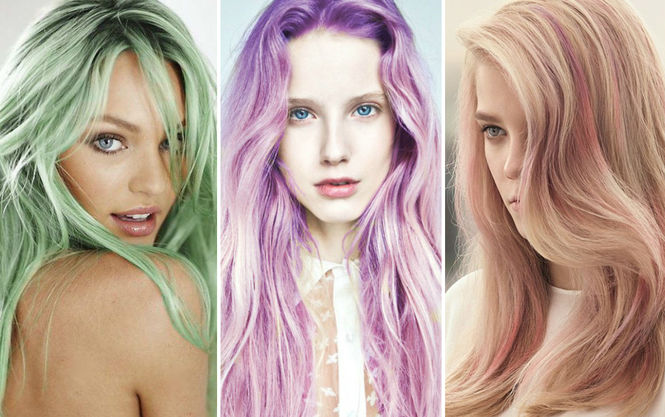 Веселка на голові: Трендові відтінки волосся 2017 року