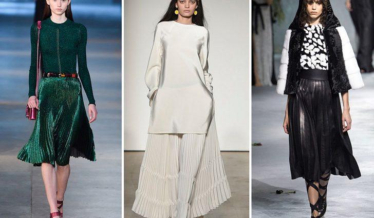 Модні тренди 2017 року: спідниці