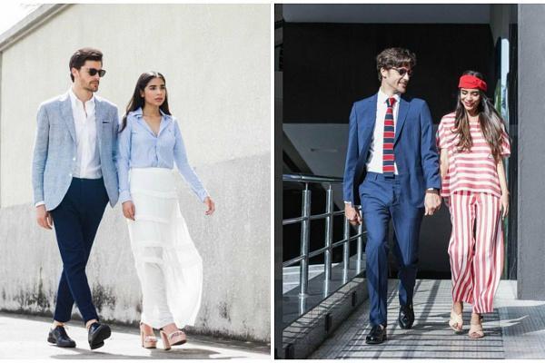 Любов і мода: 7 образів від пари фешн-блогерів (фото)