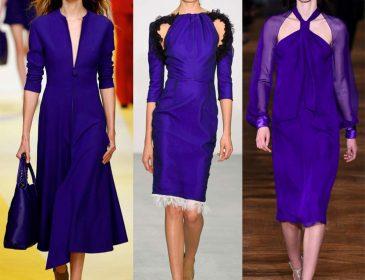 Кращий колір сезону: синє плаття 2017 року