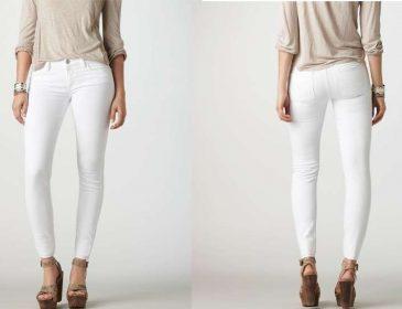 Короткі білі джинси — тренд літа 2017