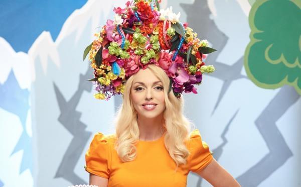 Неможливо стримати захоплення!!! Оля Полякова приголомшила неймовірною сукнею, в Горбунова мову відняло