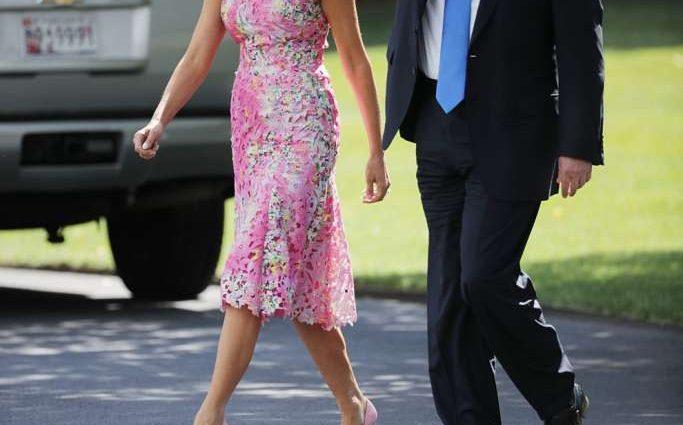 Усі відтінки Меланії Трамп»: Секрети стилю першої леді США