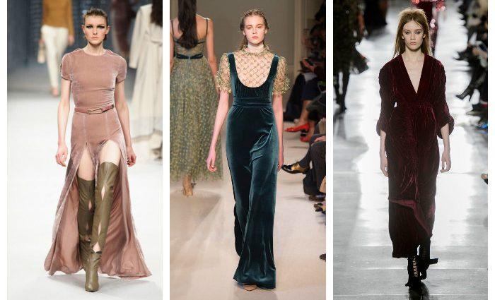 Модні довгі сукні осені 2017