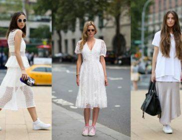 Білі кросівки — головний тренд цієї осені (ФОТО)