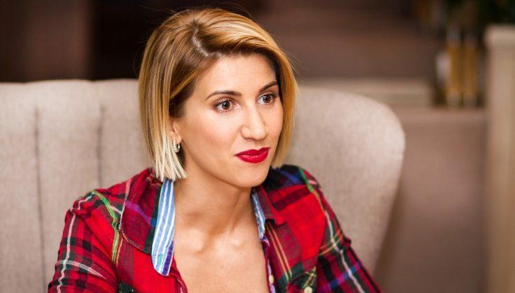 «Моя маленька блонда…»: Аніта Луценко розповіла на кого схожа її донечка