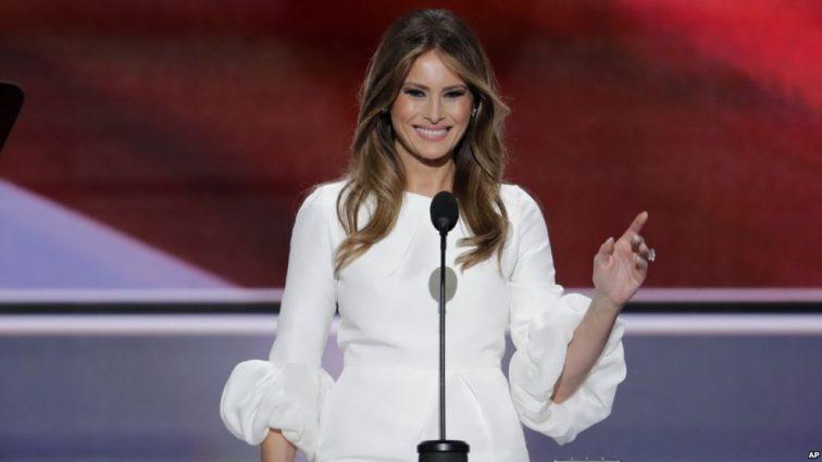 Небачена вульгарність! Меланія Трамп прийшла на благодійний вечір без нижньої білизни