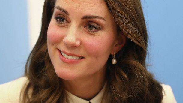 Вагітна Кейт Міддлтон на днях відвідала дитячий центр