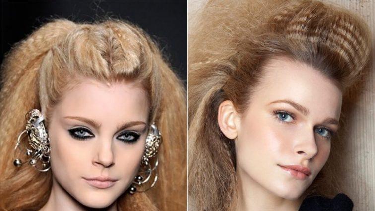Знову у моді: зачіска з «гофре» на хвилі популярності
