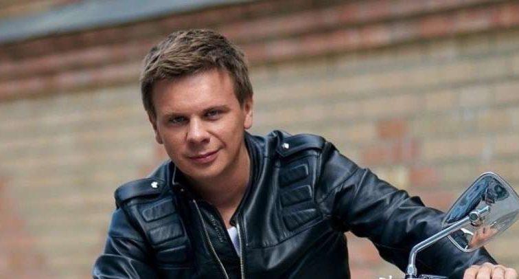 Дмитро Комаров несподівано став зіркою кліпу відомого гурту