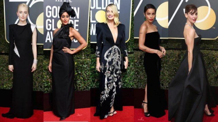 Назвали найкращу сукню з церемонії «Золотий глобус 2018»
