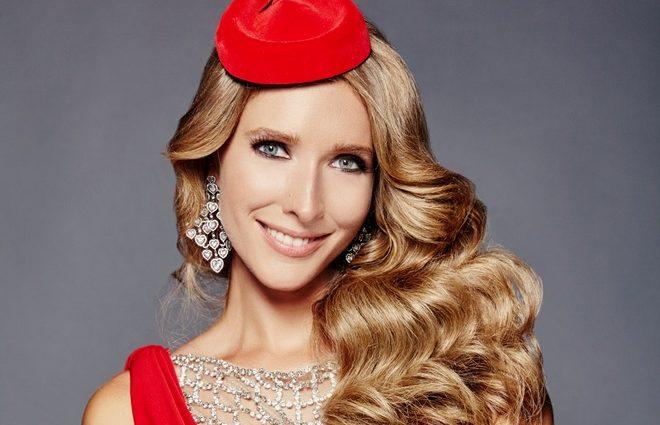 Яка розкішна! Катя Осадча показала неймовірну золотисту сукню в аеропорту