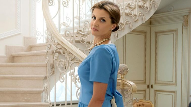 «У сукні з бурштином»: Марина Порошенко приголомшила елегантним образом на Віденському балу