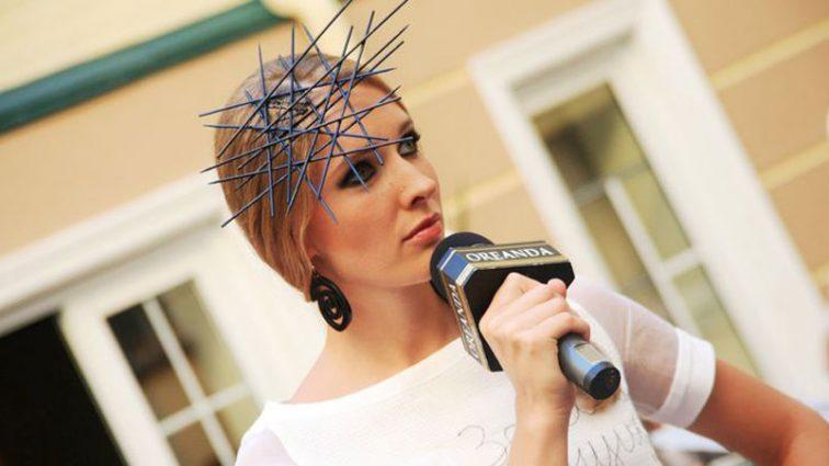 Катя Осадча продемонструвала фігуру в яскравих штанах