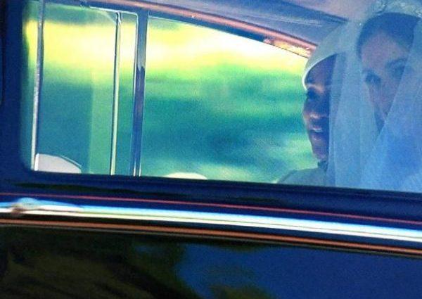 В тіарі та з фатою: Перші фото нареченої принца Гаррі — Меган у весільному вбранні