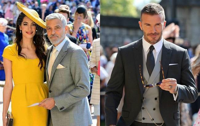Неповторні і екстравагантні: Зіркові гості здивували пишномовним вбранням на королівському весіллі (Фото)