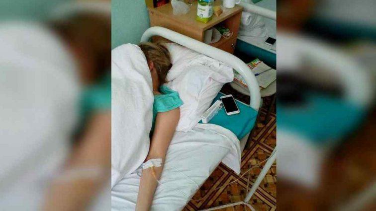 Українську телеведучу терміново госпіталізували