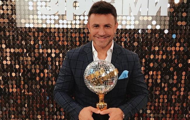 Микола Тищенко покинув проект «Танці з зірками». Як прокоментувала його виліт дружина