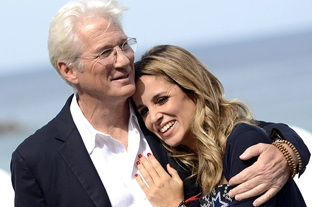Вже офіційно: 68-річний голівудський актор Річард Гір скоро стане батьком