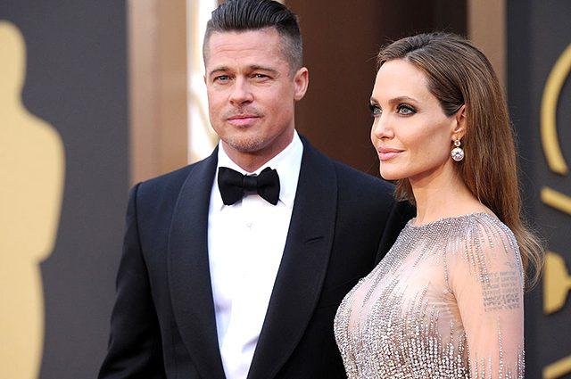 Бреда Пітта і Анджеліну Джолі вперше «застукали» разом після гучного розлучення